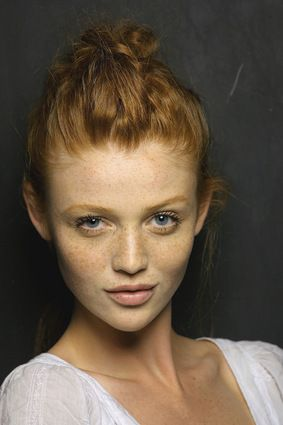 If I could look like anyone it would definitely be Cintia Dicker.  Most beautiful redhead in the world.