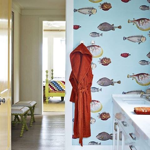 Cole & Son Aquario Wallpaper. Buy online in Australia removablewallpaper.com.au