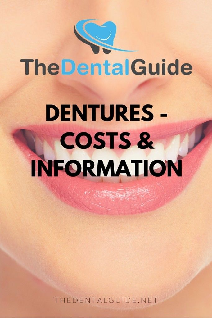 Dentures - Costs & Information - The Dental Guide