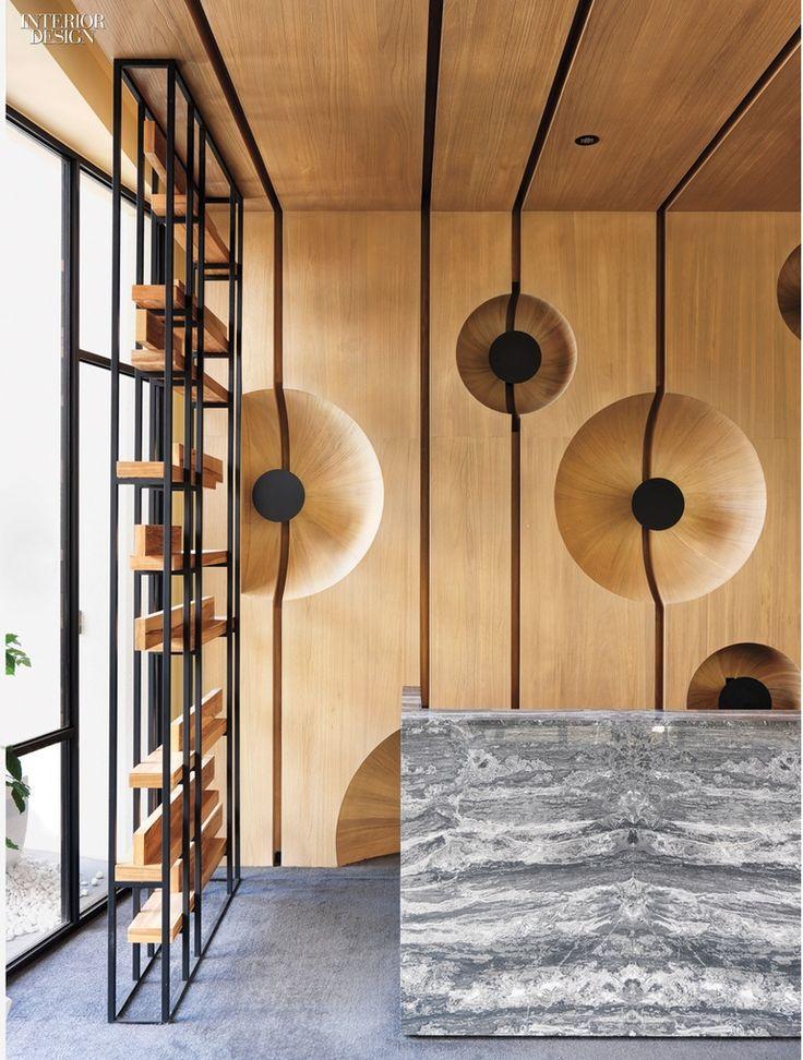 Cai-In Interior Design Co.: 2015 BoY Winner for Apartment Lobby