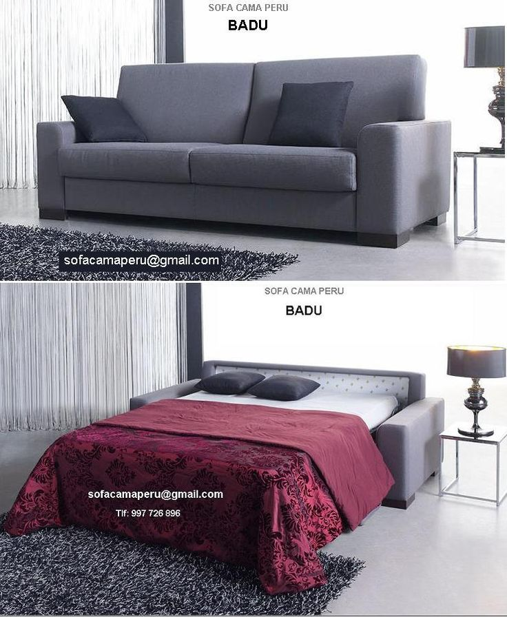 Las 25 mejores ideas sobre sofa cama moderno en pinterest - La casa del sofa cama ...