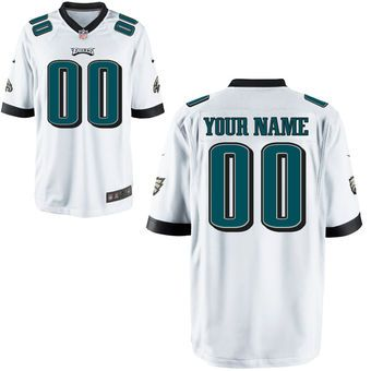 Nike Philadelphia Eagles Custom Youth Game Jersey