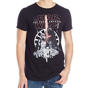 Boys VII The Force Awakens Heroes and Villians Logo Short Sleeve T-Shirt Star Wars Deals Sale Online GGn7QvUx