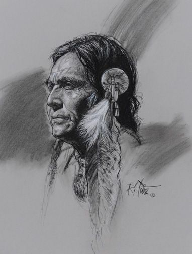 Robert Tate Pencil drawing kp