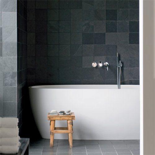 Grey/ black tiles, I really like having different shades