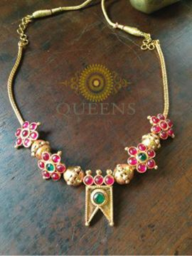 Ethnic chetinadu necklace