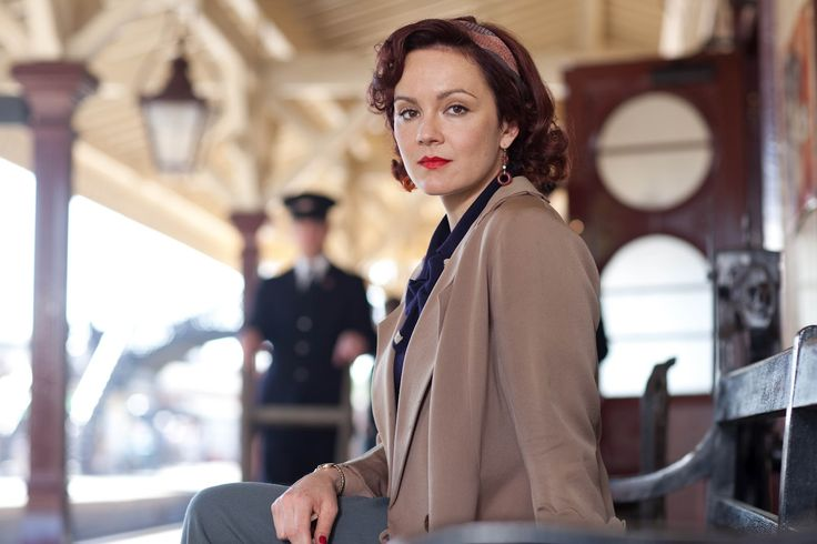 I loved all of Rachael Stirling's outfits in The Bletchley Circle