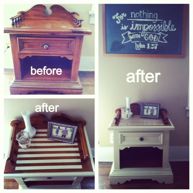 How to refinish a thrift store piece of furniture