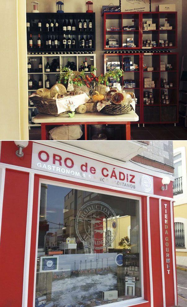 Oro de Cádiz es el nombre de nueva tienda dedicada por completo a los productos de la provincia. Ha abierto en Tarifa y tiene quesos, conservas, chacinas, vinos y más productos, todo de aquí. Todos los detalles en Cosasdecome. http://www.cosasdecome.es/guia-de-establecimientos/oro-de-cadiz/