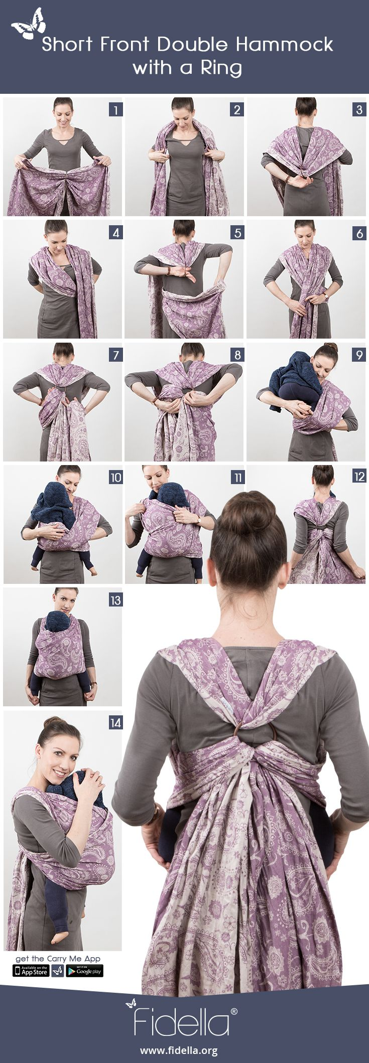 All Fidella® babywraps, baby carriers, mei tais and ring slings for modern parents