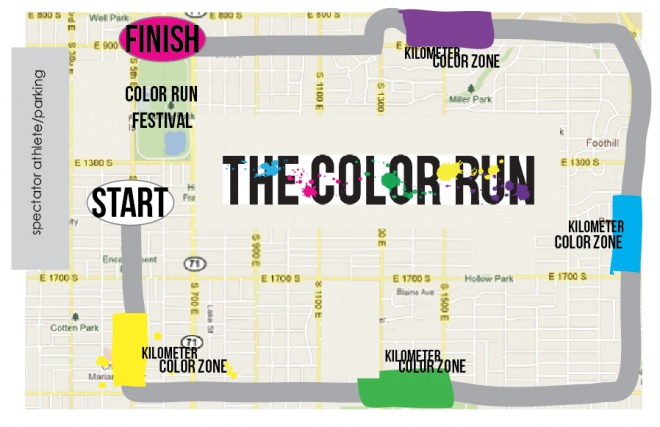 The Color Run - 5K, Portland OR. I am gonna run it! A crazy good time to be had by all!