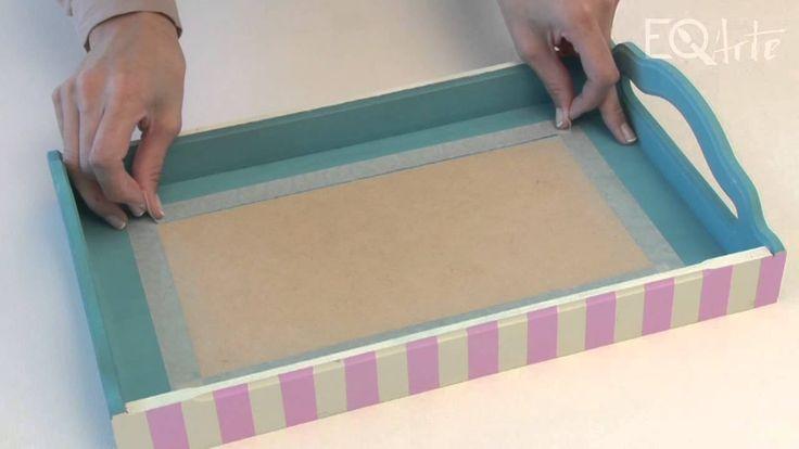 Como realizar decoupage con servilletas y aplicación de vidrio liquido? ...