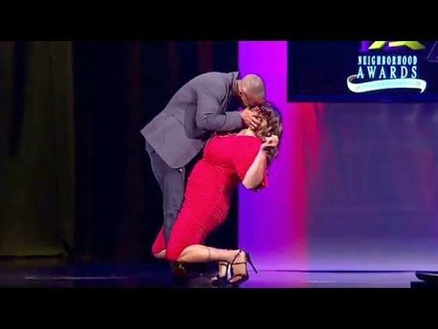 Kym Gets a Knee-Buckling Kiss from Actor Shemar Moore - Raising Whitley - Oprah Winfrey Network