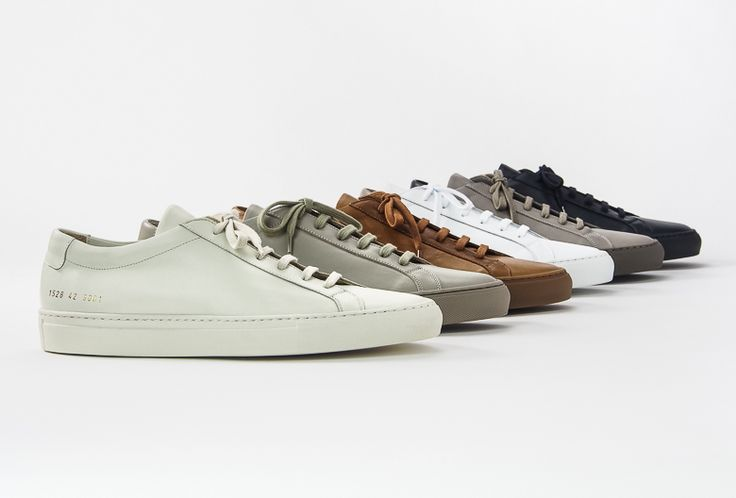 Common Projects Achilles Leather Sneakers - Order Online at MR PORTER