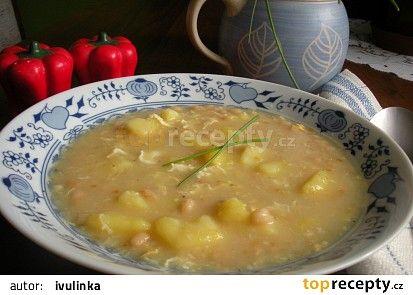 Fazolová polévka mojí babičky recept - TopRecepty.cz