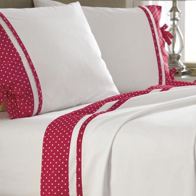 Just found this Cotton Sheet Set - Polka Dot Trim Sheet Set -- Orvis on Orvis.com!