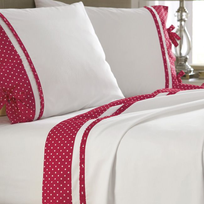 Just found this Cotton Sheet Set - Polka Dot Trim Sheet Set -- Orvis on Orvis.com!