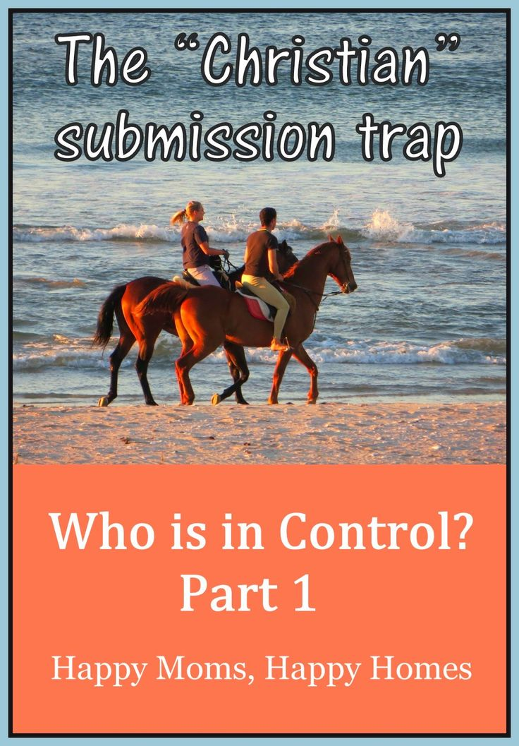 Who's in Control - Part 1: My latest mini series on #christian #marriage #submission and #authority ~ Happy Moms, Happy Homes