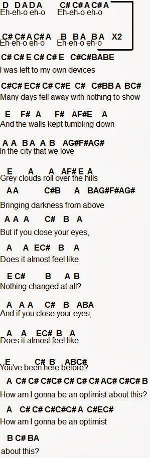 bastille day chords