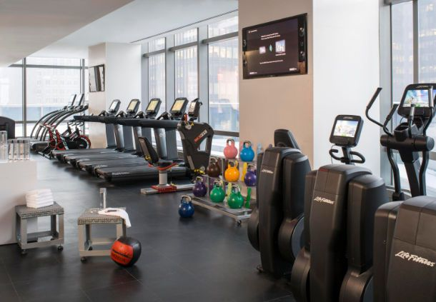 Residence Inn New York Manhattan Central Park  - Times Square Hotel Fitness Center
