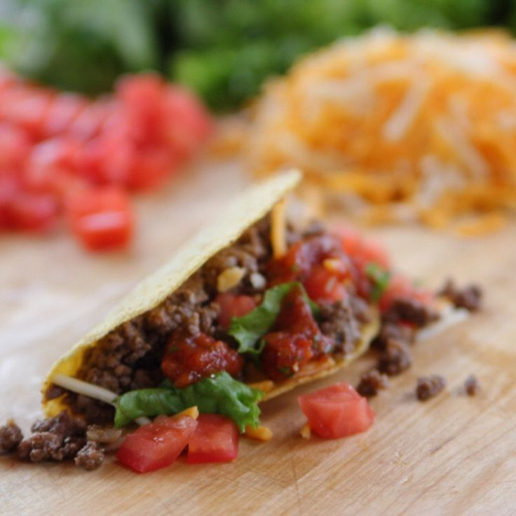Beef Tacos By Ree Drummond