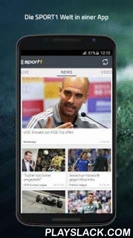 SPORT1  Android App - playslack.com ,  SPORT1 ist DIE Android App für alle Sportfans. Mit der SPORT1-App haben Sie schnellen Zugriff auf die wichtigsten News und Ergebnisse rund um die Sportarten: Fußball, Basketball, Handball, Eishockey, Motorsport und die vier großen US-Sportarten. Mit unserem umfangreichen Update steht Ihnen die App nun mit neuem Design und verbesserter Performance zur Verfügung. Desweiteren werden nun alle Inhalte an die gängigen Display-Größen…