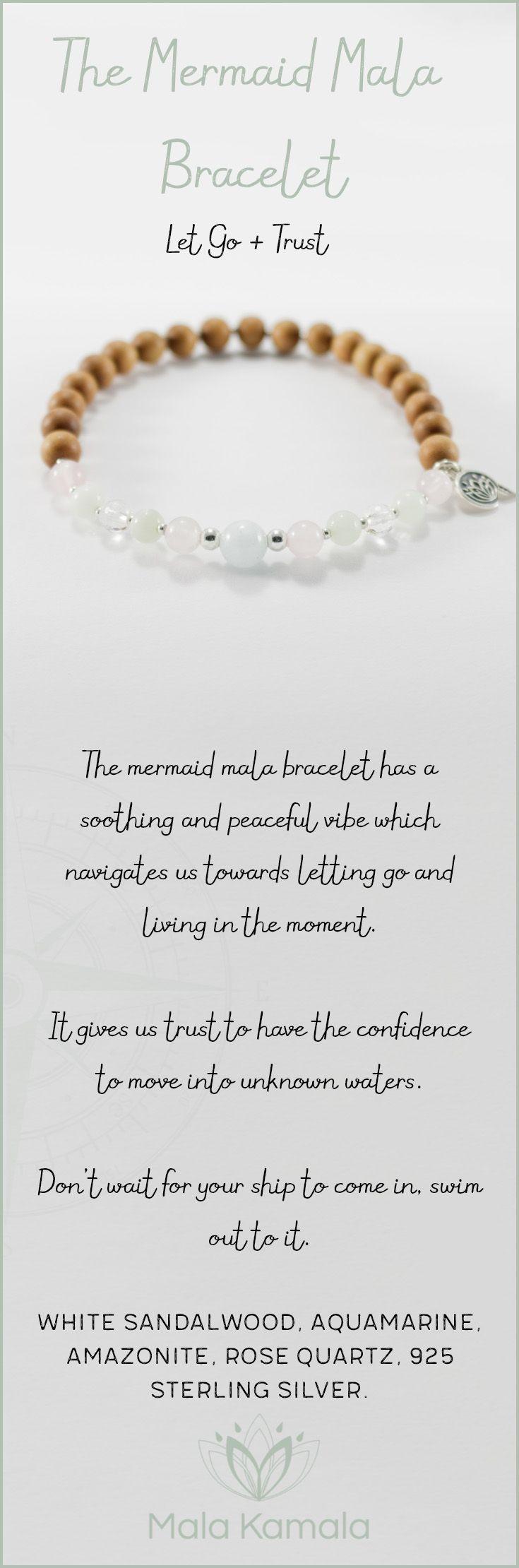 The Mermaid Mala Bracelet For Letting Go,