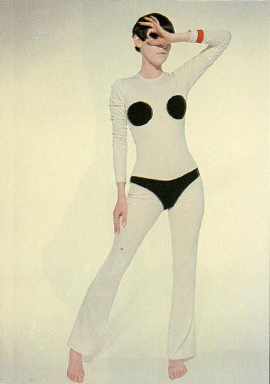 Peggy Moffitt, Rudi Gernreich this is the most ridiculous thing I've ever seen. Regina George anyone? , 1972