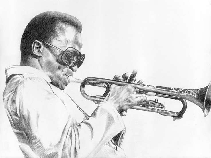 Miles (Study for 'Miles, On')  Graphite Pencil on Canvas © Alex Bacskay 2007.  Actual Size: 530x700mm