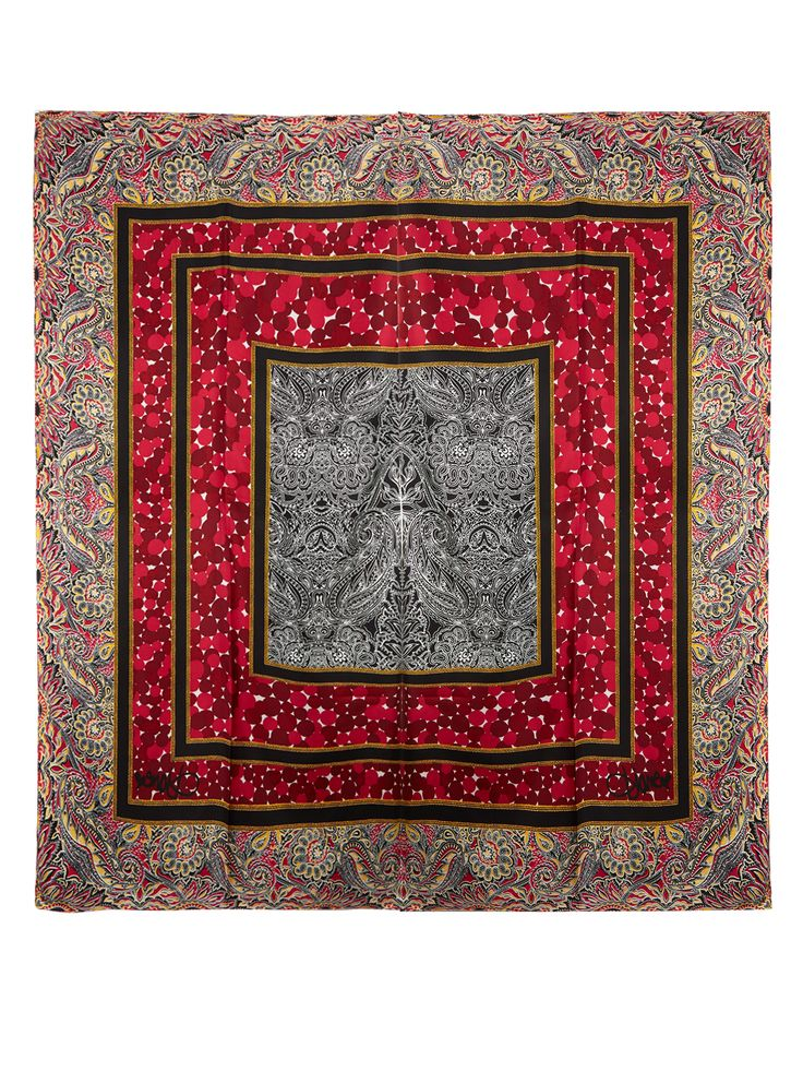 Silk Square scarf | Diane Von Furstenberg | MATCHESFASHION.COM UK