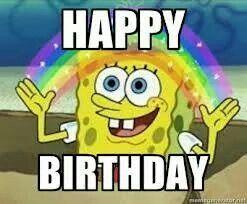 Spongebob Happy Birthday