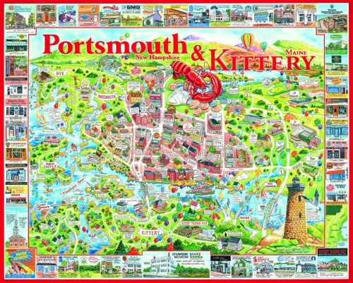 Kittery Maine Portsmouth New Hampshire Reasons I Love Maine - Portsmouth map of us