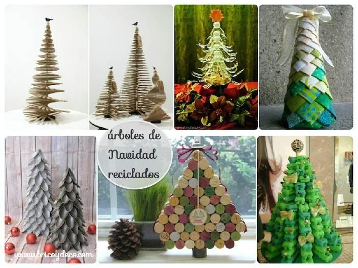 40 árboles de Navidad originales y diferentes
