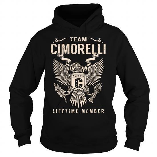 Awesome Tee Team CIMORELLI Lifetime Member - Last Name, Surname T-Shirt T shirts