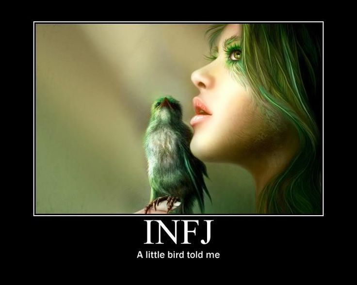 INFJ....gut instinct is ALWAYS right on track.