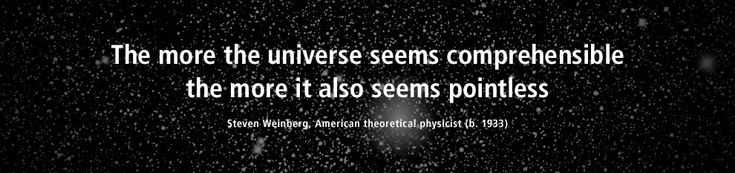 The more the universe seems comprehensible, the more it also seems pointless - #Quote by Steven Weinberg, American theoretical physicist (b. 1933)