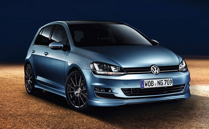 maybe even next new Volkswagen Golf VII 2013 with all the accessories, but also includes other improvements such as sport suspensio