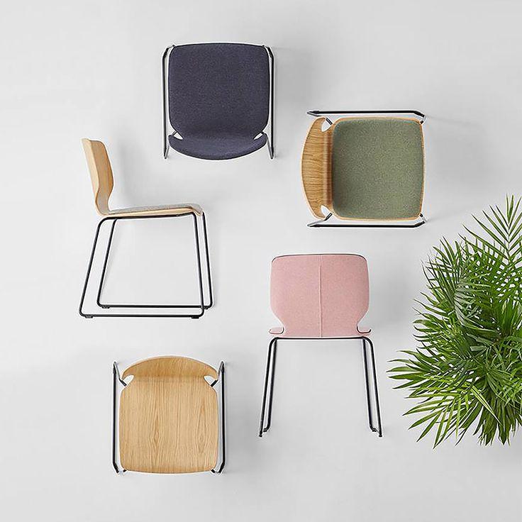 Nim | Sandler Seating. Designed by Yonoh Studio.
