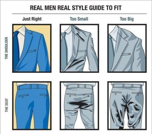 Guys, wear a suit correctly and women will be putty in your hands (6 Photos)