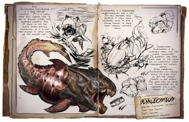 Dunkleosteus Dossier #ark #survival #evolved #gaming