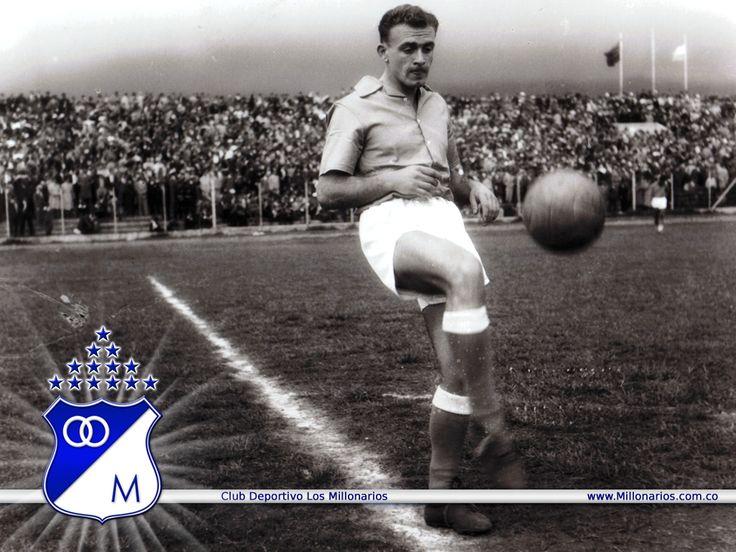 El gran Alfredo Di Stéfano en su paso por Millonarios de Bogotá