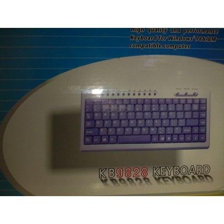 Es un teclado en color negro muy elegante para la oficina y de tamaño pequeño por eso nos gusta y lo recomendamos. Visita nuestra web: https://informaticamipc.com/oportunidades/4447-teclado-kb9828-alta-calidad-elegante-usb-color-negro-4015867515174.html