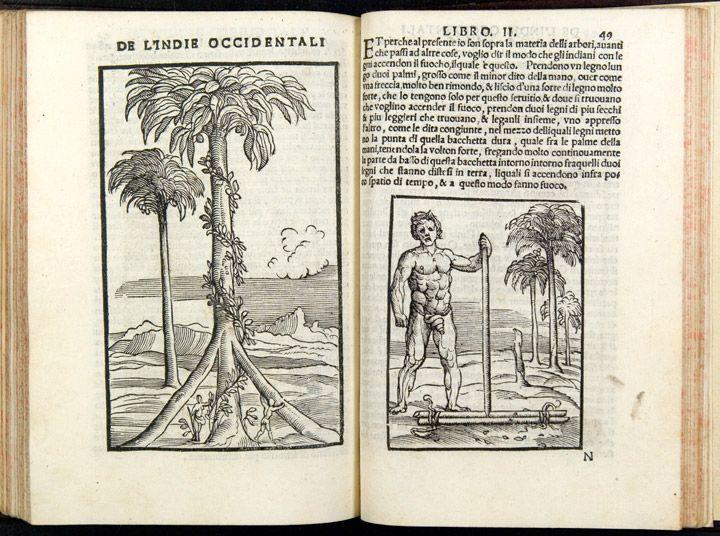 Martyr, Peter (1499-1562), Gonzalo Fernández de Oviedo y Valdés (1478-1557) and Giovanni Battista Ramusio (1485-1557). Summario de la Generale Historia de l'Indie Occidentali. Venice, 1534