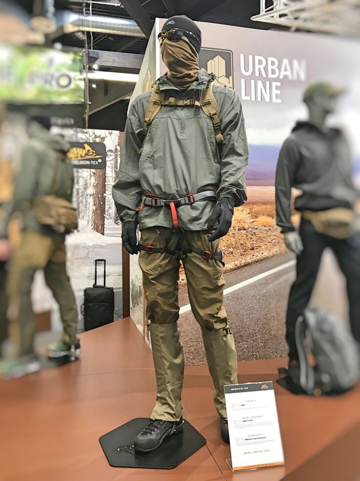 Helikon showcased plenty of new gear at #IWA2017. Presented here are Raccoon Mk2 Backpack and Windrunner Windshirt - both already available at @Military1st online store. Discover our current range of Helikon clothing and outdoor equipment at Military 1st obnline store. Free UK delivery and returns! Competitive overseas shipping rates.