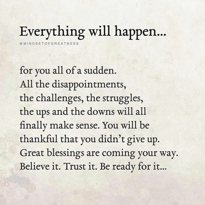 Everything Will Happen Life Quotes Lesson