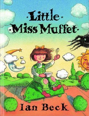 Little Miss Muffet and the spider are, of course, very well known, but here we are introduced to a number of other characters. The mice (who aren't very nice) and the clown (with the custard surprise).