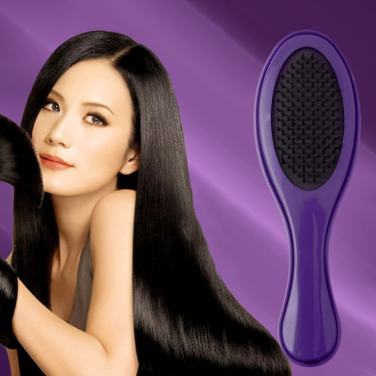 Perfect  Anti-Static Detangling Curl Straight Hair Comb Smooth Massage Hair Brush brand new and high quality