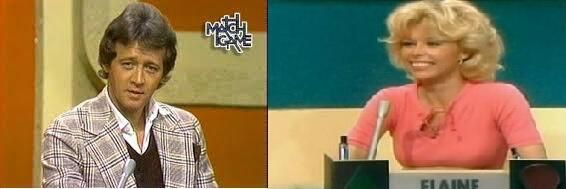 Bobby Van and Elaine Joyce. Always on Match Game and Tattletales!