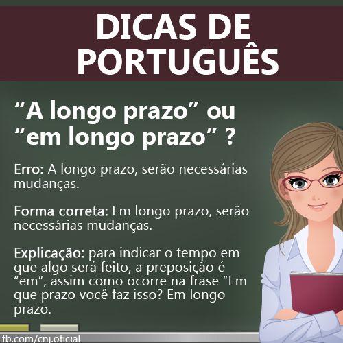 """Dicas de Português: """"a longo prazo"""" ou """"em longo prazo""""?"""