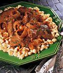 Hungarian Beef Round Steak and Spaetzle #steak #beef #spaetzle #recipe